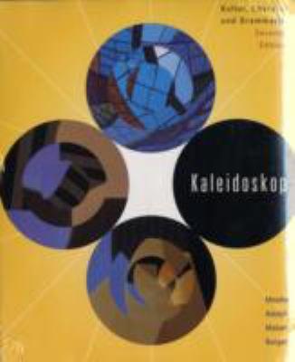 Kaleidoskop: Kultur, Literatur Und Grammatik [With CDROM] 9780618714605