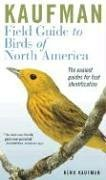 Kaufman Field Guide to Birds of North America 9780618574230