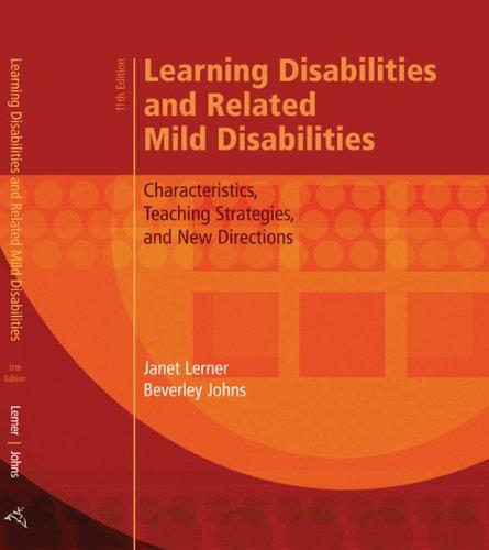 teaching strategies learning disabilities dissertations