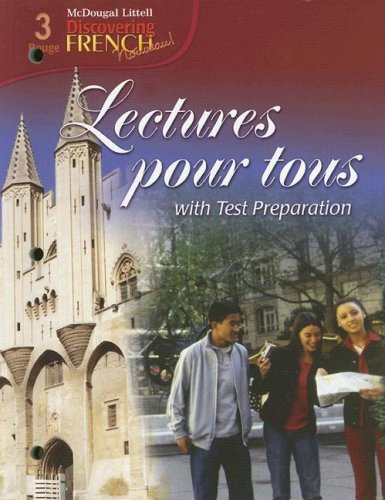 Lectures Pour Tous: With Test Preparation [With 3 CDs] 9780618661145