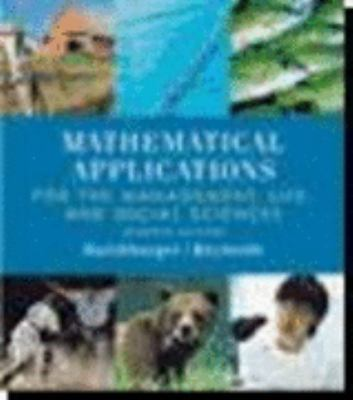 Mathematical Applications , Seventh Edition [With CDROM] 9780618386581