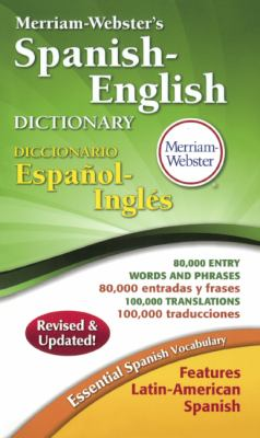 Merriam-Webster's Spanish-English Dictionary 9780613094306