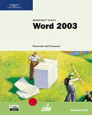 Microsoft Office Word 2003: Introductory Tutorial 9780619183516