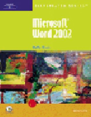 Microsoft Word 2002 -- Illustrated Complete 9780619045265