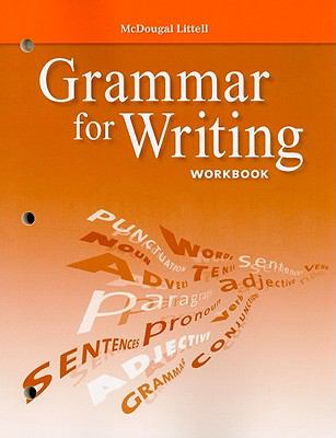 Grammar for Writing Workbook, Grade 9 9780618906475