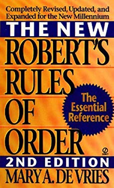 New Robert's Rules of Order