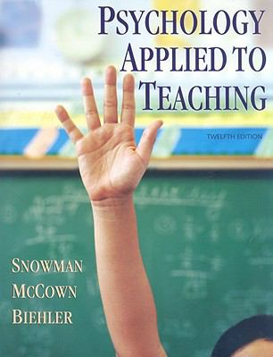 Psychology Applied to Teaching 9780618968565