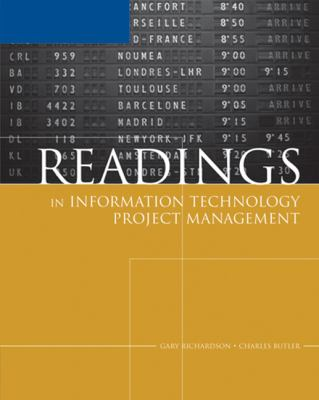 Readings in Information Technology Project Management 9780619217501