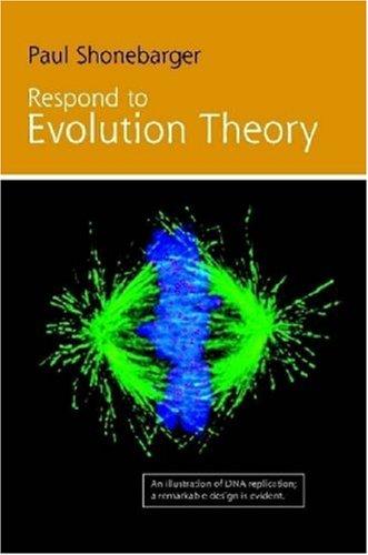 Respond to Evolution Theory 9780615214320