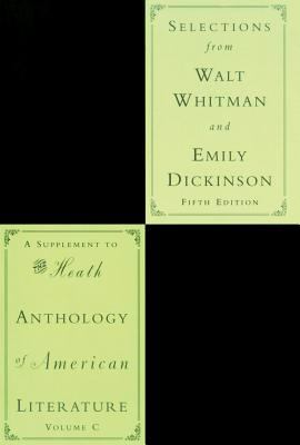 Selections from Walt Whitman and Emily Dickinson 9780618542475