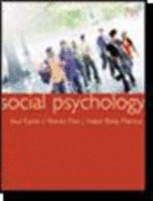 Social Psychology 9780618868469