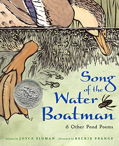 Song of the Water Boatman and Other Pond Poems 9780618135479