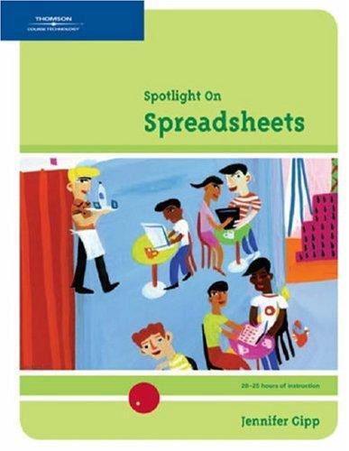 Spotlight on: Spreadsheets 9780619266493