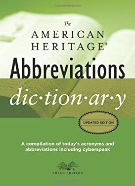 The American Heritage Abbreviations Dictionary 9780618857470