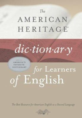 The American Heritage Dictionary for Learners of English 9780618249510