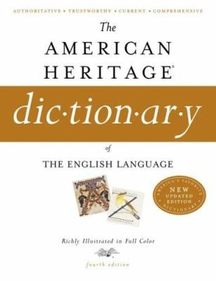 The American Heritage Dictionary of the English Language 9780618701728
