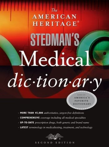 The American Heritage Stedman's Medical Dictionary 9780618428991