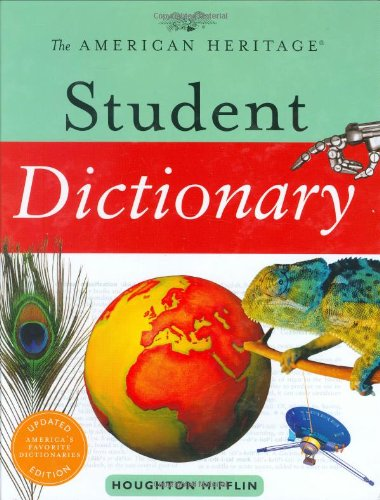 The American Heritage Student Dictionary 9780618701490