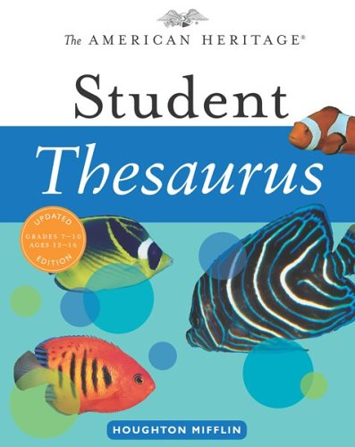 The American Heritage Student Thesaurus 9780618701704