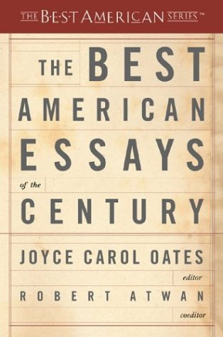 The Best American Essays of the Century 9780618155873