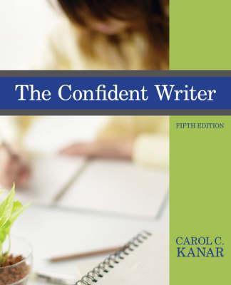 The Confident Writer 9780618958467