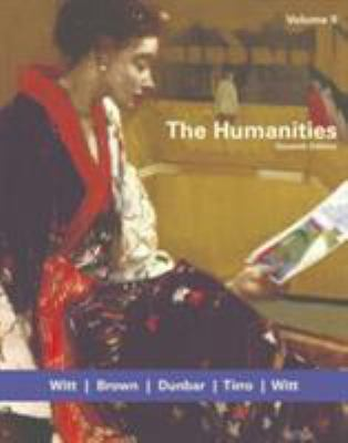 The Humanities, Volume II 9780618417773