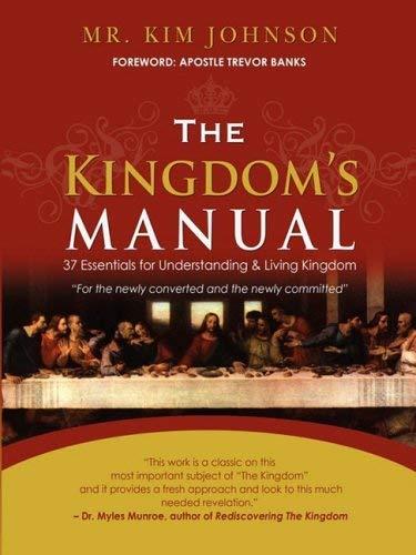 The Kingdom's Manual 9780615217932