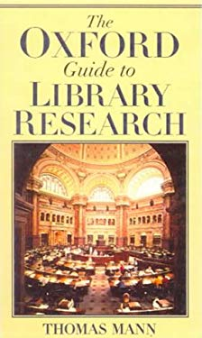 The Oxford Guide to Library Research 9780613119559
