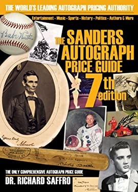 The Sanders Autograph Price Guide 9780615264622