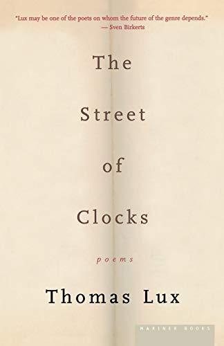 The Street of Clocks 9780618257508