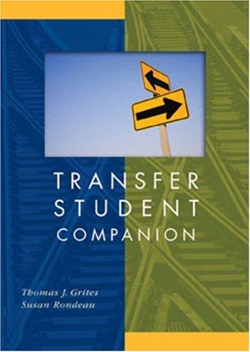 Transfer Student Companion 9780618924868