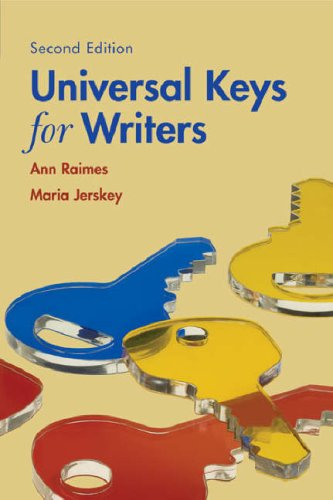 Universal Keys for Writers 9780618753970
