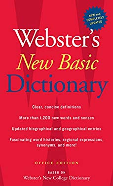 Webster's New Basic Dictionary, Office Edition 9780618947218