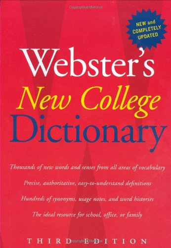Webster's New College Dictionary 9780618953158
