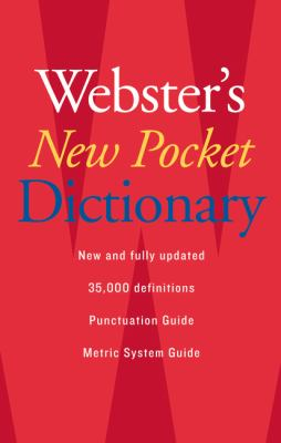Webster's New Pocket Dictionary 9780618947263