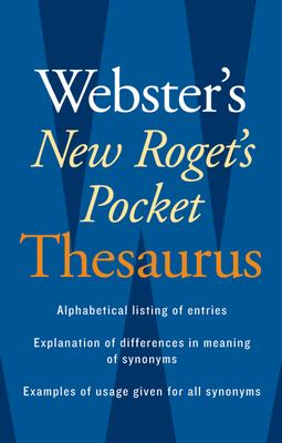 Webster's New Roget's Pocket Thesaurus 9780618953202