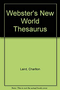 Webster's New World Thesaurus 9780613018661