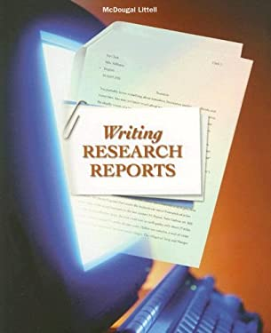Writing Research Reports 9780618052721