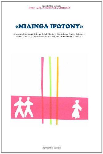 Miainga Ifotony 9780620493970
