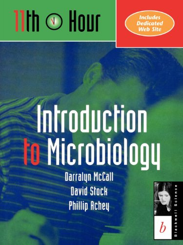 11th Hour: Introduction to Microbiology 9780632044184