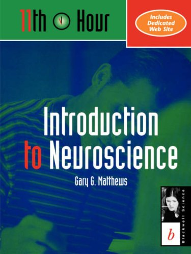 11th Hour: Introduction to Neuroscience 9780632044146