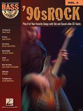 '90s Rock: Bass Play-Along Volume 4 2373011