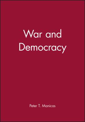 War and Democracy 9780631158363
