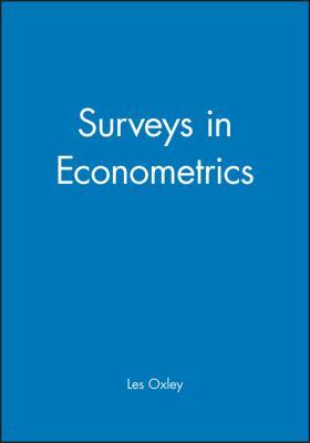 Surveys in Econometrics 9780631190653