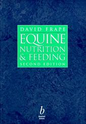 Equine Nutrition and Feeding 2366006