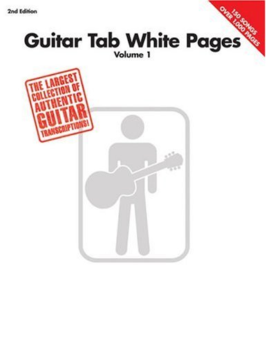 Guitar Tab White Pages - Volume 1 9780634026119