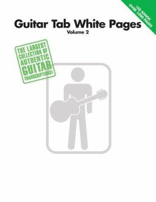Guitar Tab White Pages, Volume 2 9780634053153