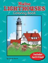 Maine Lighthouses Coloring Book 12642028