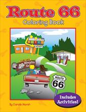 Route 66 Coloring Book 12642029