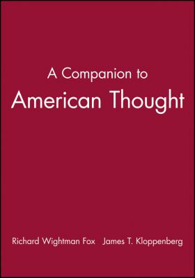 A Companion to American Thought 9780631206569